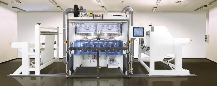 Máquina de electrohilado sin aguja de segunda generación de Elmarco